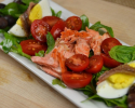 Thumbnail image for Copper River Salmon Salad for One