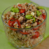 Thumbnail image for Lemony Farro with Tomatoes, Corn, Edamame and Cannellini Beans